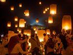 Detik-Detik Waisak di Borobudur