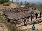 Angin Kencang, Warga Dua Dusun Mengungsi