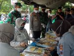 Awal Bulan Puasa TNI-POLRI Dirikan Dapur Umum