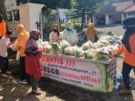 Sayuran Gratis, Program Cantelan Jumat Berkah di Pendopo Wabup Wonosobo