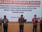 Wali Kota Magelang Ajak Masyarakat Dukung Pilkada 2020 Berjalan Tertib dan Damai