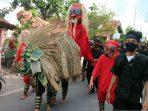 Sanggar Seni Budaya Barong Kemamang Solo Gelar Kirab Sosialisasi Protokol Kesehatan