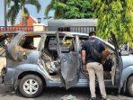 Pembunuh Wanita Terbakar dalam Mobil di Sukoharjo Ditangkap