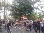 Polisi Bubarkan Demo Susulan di Depan Artos Magelang