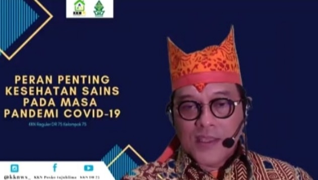 Dosen Undip, Dr. Ari Udijono, M.Kes, FIAS