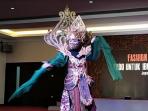 Ajang Fashion Show Virtual, Puluhan Pelajar Tampilkan Busana Bertema Pandemi