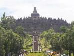Efek Covid-19, Pengunjung Candi Borobudur Turun Drastis