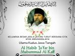 Ganjar: Habib Ja'far Merupakan Sosok Ulama Karismatik yang Selalu Memberi Ketenangan