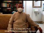 Ketua PD Muhammadiyah Wonogiri Beri Dukungan Usulan Pengajuan Calon Kapolri Tunggal Jokowi