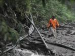 Pipa Air Terdampak Lahar Gunung Merapi Dibersihkan