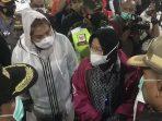 Mensos Sambangi Korban Bencana di Kota Semarang