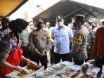 Kapolda Jateng Tinjau Dapur Umum Dan Posko Banjir Kaligawe Kota Semarang