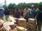 Tak ada lagi Ruang Teror dari KKB untuk Warga Intan Jaya, Bupati dan Kapolres Kompak bagi Sembako