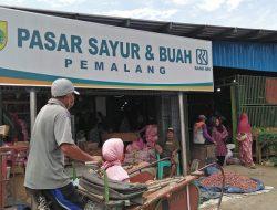 Pembagian Lapak Pasar Buah dan Sayur Pemalang Dikeluhkan Pedagang
