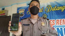 Baur Tilang Satlantas Polres Rembang Cahyo Prabowo