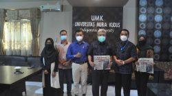 Rektor UMK Prof. Dr. Darsono, M.S.