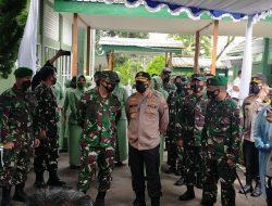 Cek Pelaksanaan Vaksinasi di RST dr. Asmir Salatiga, Kapolda Jateng Dampingi Pangdam IV Diponegoro