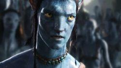Sam Worthington dalam film Avatar.