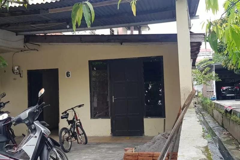 Rumah terduga teroris di Jalan Lamongan Barat, Kota Semarang