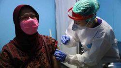 vaksinasi Covid-19 di Puskesmas Timur 1, Kabupaten Banyumas