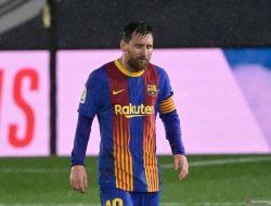 Messi Alami Puasa Gol Terlama di El Clasico