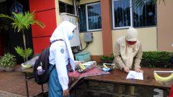 uji coba PTM di SMA Negeri 1 Bae, Kudus