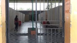 Hall Futsal Gor Satria Purwokerto yang akan digunakan pemudik