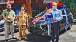 Bupati Serahkan Hadiah Xpander Tabungan Bima Bank Jateng