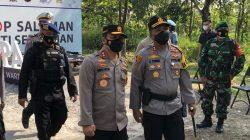 Kapolda Jateng Lakukan Kunjungan Kerja Ke Wonogiri, Cek Pelaksanaan Ops Ketupat Candi Tahun 2021 di Pos Pam