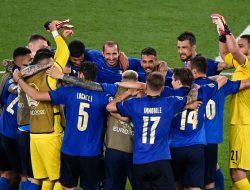 Cedera tak Mengusik Kegembiraan Italia
