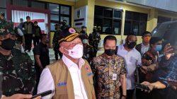 Kepala BNPB sekaligus Ketua Satgas Penanganan Covid-19 Nasional Letjen TNI Ganip Warsito
