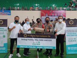 Dukung Langkah Pemerintah Melawan Covid-19, Donasikan 150.000 Botol Hand Sanitizer untuk Masyarakat