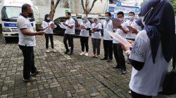 Kegiatan jumat sehat Bank Jateng Cabang Banjarnegara