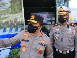 Tinjau PPKM Darurat, Kapolda Jateng Kunjungi Perbatasan Cepu – Jawa Timur