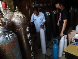 Inilah Aksi Polisi Polres Sukoharjo, Sediakan Tabung Oksigen Untuk Warga Isoman