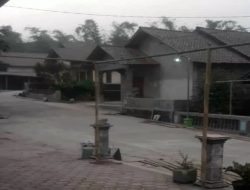Hujan Abu Tipis Terjadi di Empat Desa