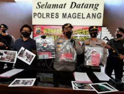Kepolisian Resor Magelang Mengungkap  Pelaku Pencurian Dua Apotek