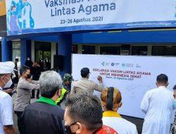 Gubernur Apresiasi Vaksinasi Lintas Agama