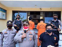 Melawan Saat Akan  Ditangkap, 2 Tersangka Pembobol ATM di Mertoyudan di Dor Petugas