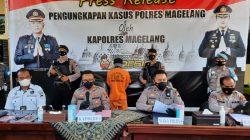 presscon di Mako Polres Magelang (31/8/2021).