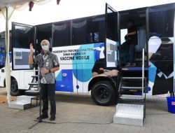 Sasar Daerah Vaksinasi Rendah, Pemprov Jateng Luncurkan Bus Vaksin