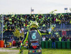 Rossi Ucapkan Perpisahan dengan Misano